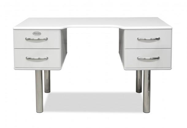 98feda160c31 ... Kancelársky stôl Malibu - Písací stôl (biela