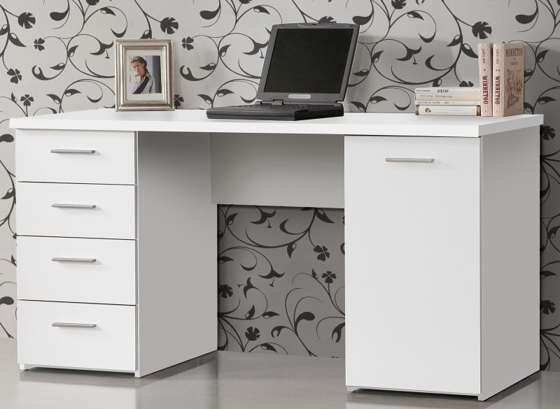 Kancelársky stôl Net106 MT926 (biela)