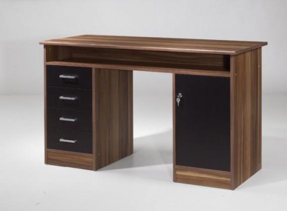 Kancelársky stôl Net106 MT931 (Orech/čierna)