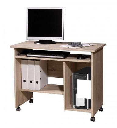 Kancelársky stôl Office - PC stôl (dub sonoma)