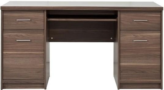 Kancelársky stôl Open BIU/150 (Orech virginia)