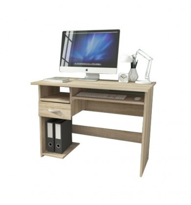 Kancelársky stôl P1 (dub sonoma)