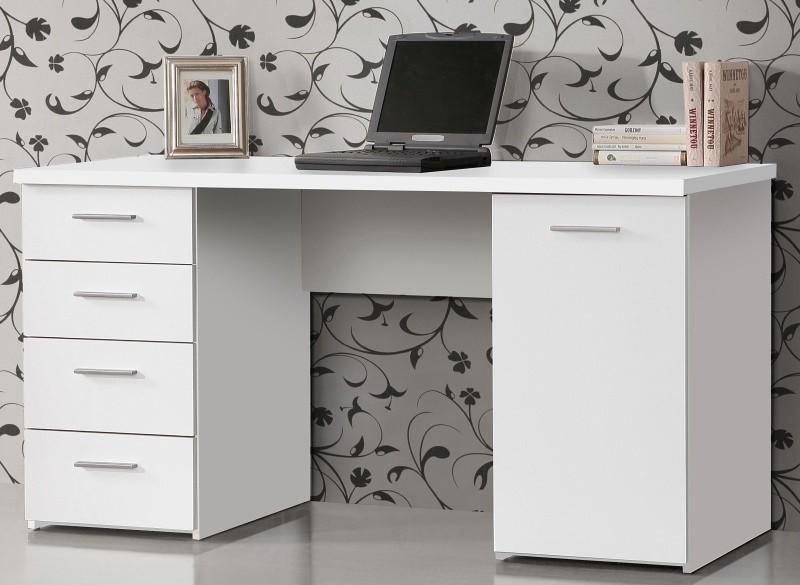 Kancelársky stôl Písací stôl MT926 (biela)