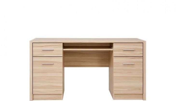 Kancelársky stôl Seti BIU2D2S (Buk tatra)