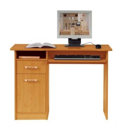 Kancelársky stôl Tip top TBIU 1D1S/100 (Jelša medová)