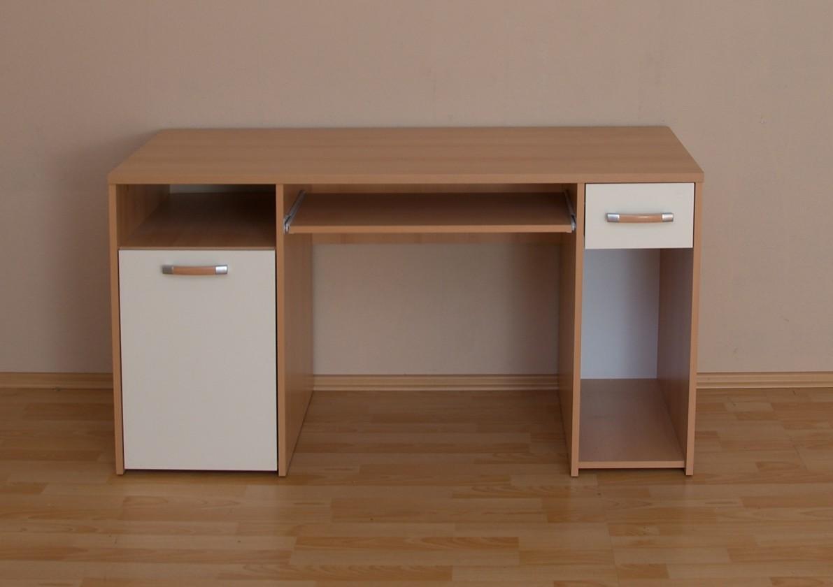 Kancelársky stôl Twingo (Buk/slonová kosť)