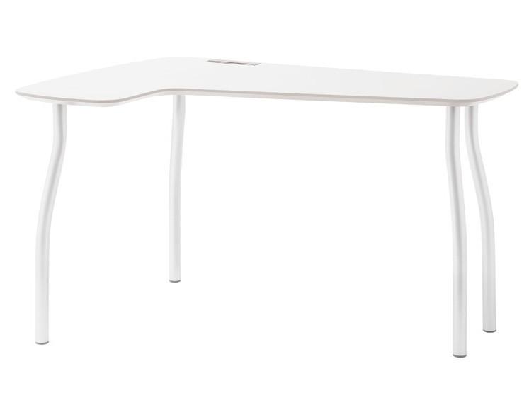Kancelársky stôl Wing(biela)