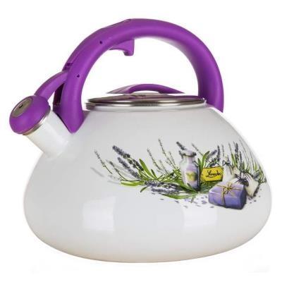 Kanvica Banquet ELDBNQ1000 Lavender, smaltovaná, 3l