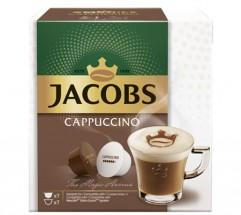 Kapsule Jacobs Cappuccino 7 + 7 ks