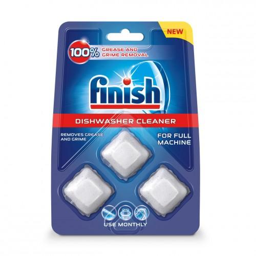 Kapsule na čistenie umývačky Finish 3060309, 3ks
