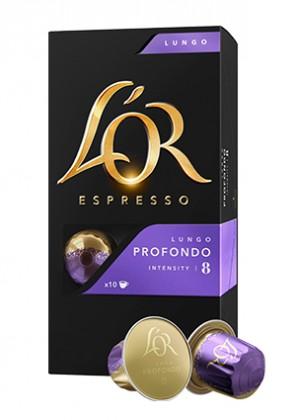 Kapsule, náplne Kapsule L'OR Espresso Profond 10 ks