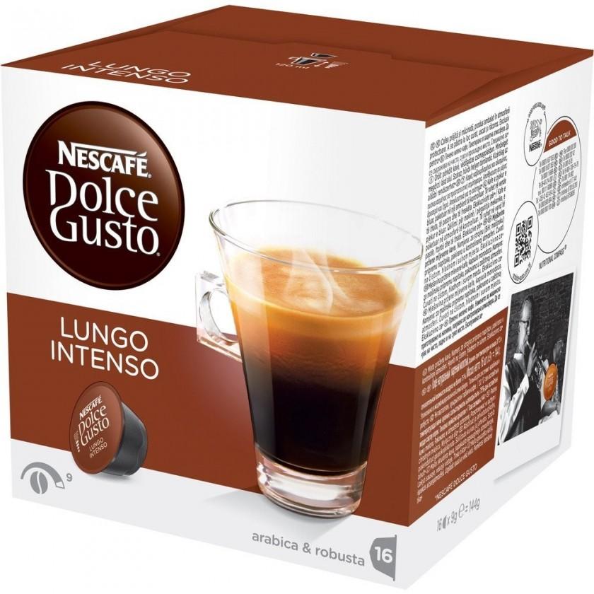 Kapsule, náplne Kapsule Nescafé Dolce Gusto Caffé Lungo Intenso 16ks