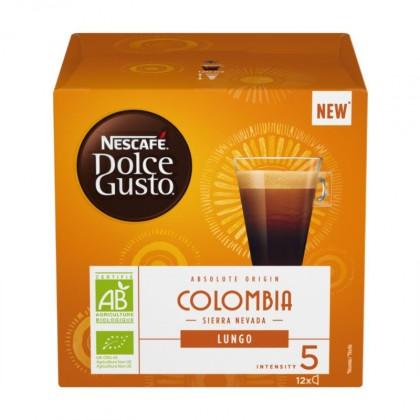 Kapsule, náplne Kapsule Nescafé Dolce Gusto COLOMBIA 12ks