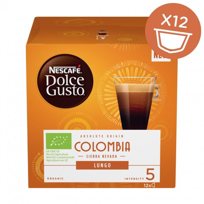 Kapsule, náplne Kapsule Nescafé Dolce Gusto Colombia, 12ks