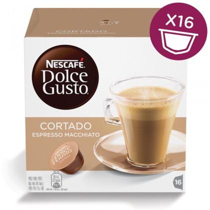 Kapsule, náplne Kapsule Nescafé Dolce Gusto Cortado 16ks