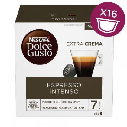 Kapsule, náplne Kapsule Nescafé Dolce Gusto Espresso Intenso, 16ks