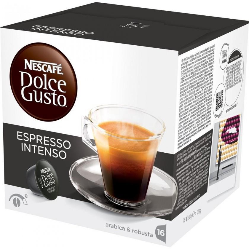Kapsule, náplne Kapsule Nescafé Dolce Gusto Espresso Intenso 16ks