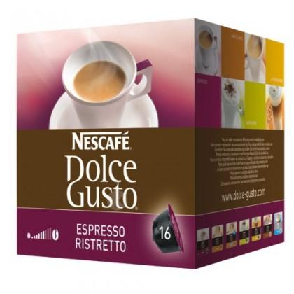 Kapsule, náplne Kapsule Nescafé Dolce Gusto Espresso Ristretto 16ks