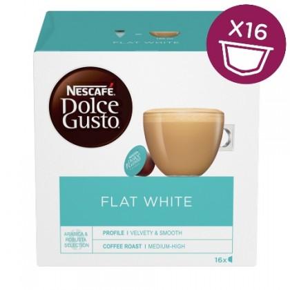 Kapsule, náplne Kapsule Nescafé Dolce Gusto Flat White, 16ks