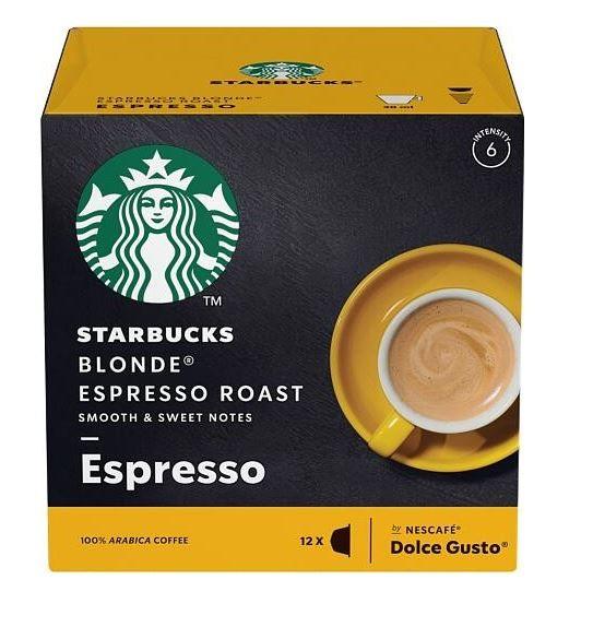Kapsule, náplne Kapsule Nescafé Starbucks Blonde Espresso, 12ks