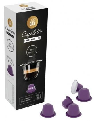 Kapsule, náplne Kapsule pre Nespresso - LIMO BAR Capsletto Blend Lungo