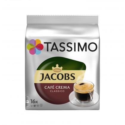 Kapsule, náplne Kapsule Tassimo Jacobs Caffe Crema 16 ks