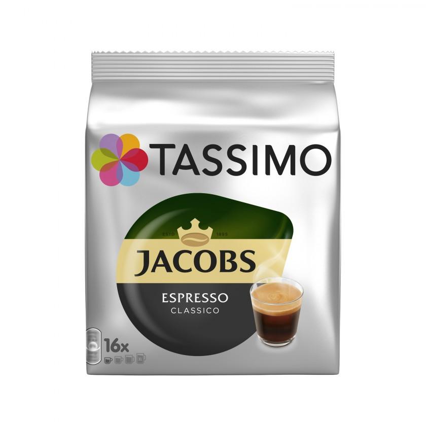 Kapsule, náplne Kapsule Tassimo Jacobs Espresso 16 ks