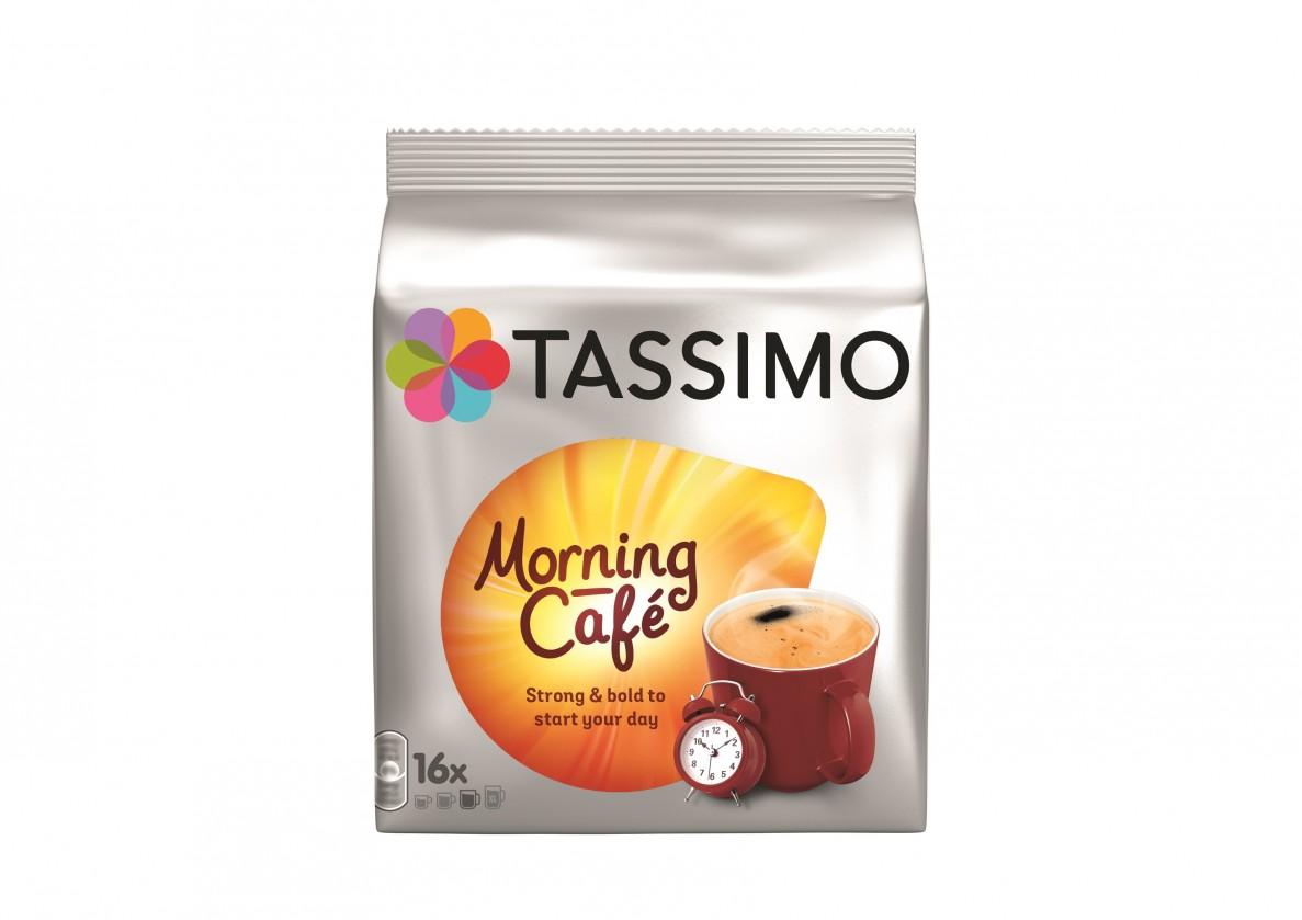 Kapsule, náplne Kapsule Tassimo Jacobs Morning Café, 16 ks