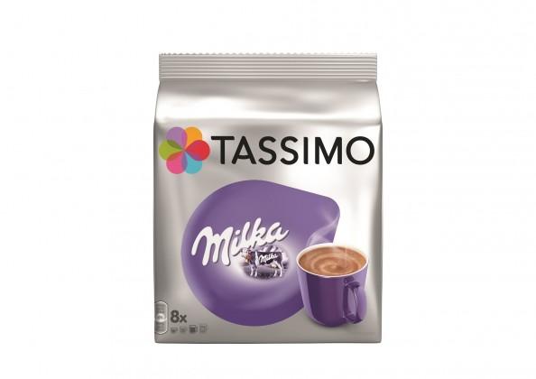 Kapsule, náplne Kapsule Tassimo Milka, 8 + 8ks