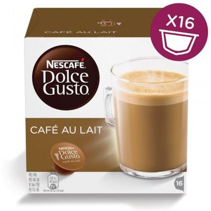 Kapsule, náplne Nescafé Dolce Gusto Café Au Lait 16ks