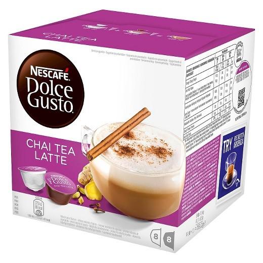 Kapsule, náplne Nescafé Dolce Gusto Chai Tea Latte 16ks