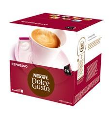 Kapsule, náplne Nescafé Dolce Gusto Espresso 16ks