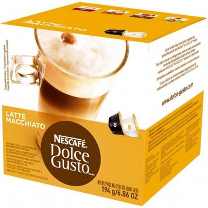 Kapsule, náplne Nescafé Dolce Gusto Latte Macchiato 16ks OBAL POŠKODENÝ