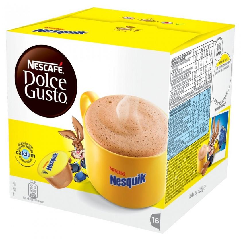 Kapsule, náplne Nescafé Dolce Gusto Nesquik 16ks