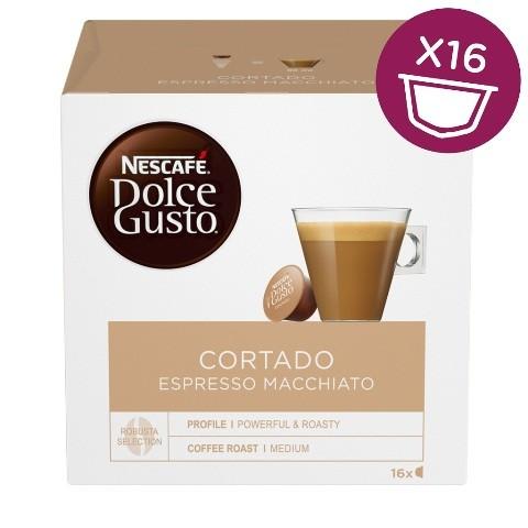 Kapsule Nescafé Dolce Gusto Cortado 16ks