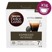 Kapsule Nescafé Dolce Gusto Espresso Intenso, 16ks
