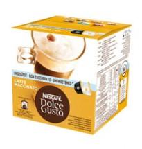 Kapsule Nescafé Dolce Gusto Latté Macchiatto bez cukru 16ks