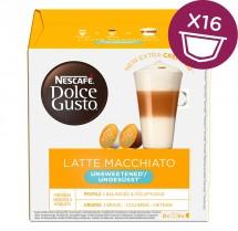 Kapsule Nescafé Dolce Gusto Latté Macchiatto bez cukru, 16ks