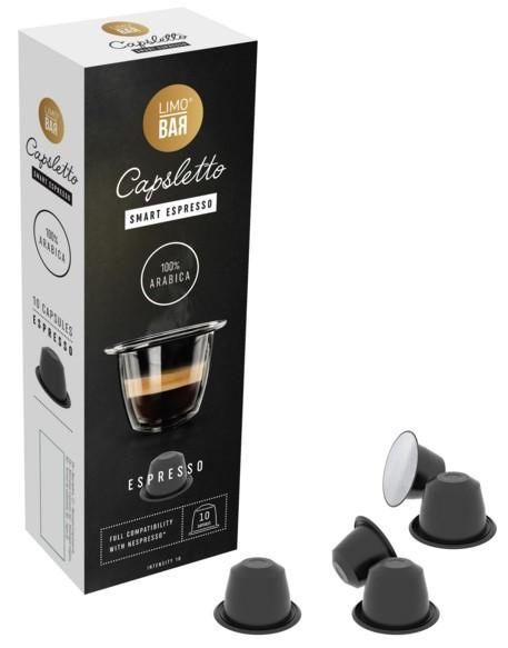 Kapsule pre Nespresso - LIMO BAR Capsletto Blend Espresso