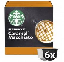 Kapsule STARBUCKS CARAMEL MACCHIATO Nescafé DGSTARBCARAME,12ks