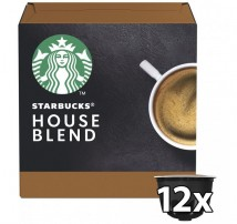 Kapsule STARBUCKS Medium House Blend Nescafé DGSTARBHOUSEB,12ks