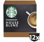 Kapsule STARBUCKS Medium House Blend Nescafé DGSTARBHOUSEB,12ks