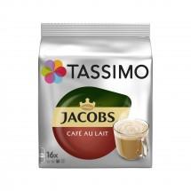 Kapsule Tassimo Jacobs Cafe Au Lait, 16ks