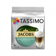 Kapsule Tassimo Jacobs Latte Macchiato Less Sweet 8 + 8 ks
