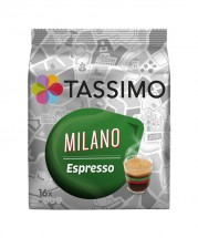 Kapsule Tassimo Jacobs Milano Espresso 16 ks