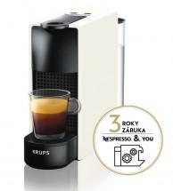 Kapsuľový kávovar Krups Nespresso Essenza Mini XN110110 biely