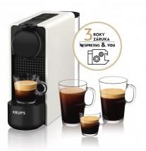 Kapsuľový kávovar Nespresso Essenza Plus Krups XN510110 biely