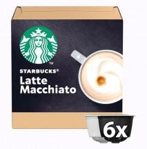 Kapusle STARBUCKS LATTE MACCHIATO Nescafé DGSTARBLATTEM,12ks