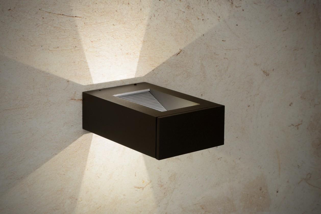 Karey - vonkajšie osvetlenie, 1W, LED (čierna)