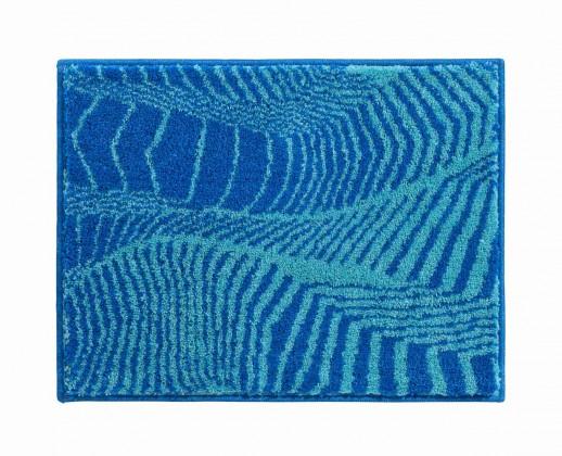 Karim 13 - Kúpeľňová predložka malá 65x50 cm (modrá)